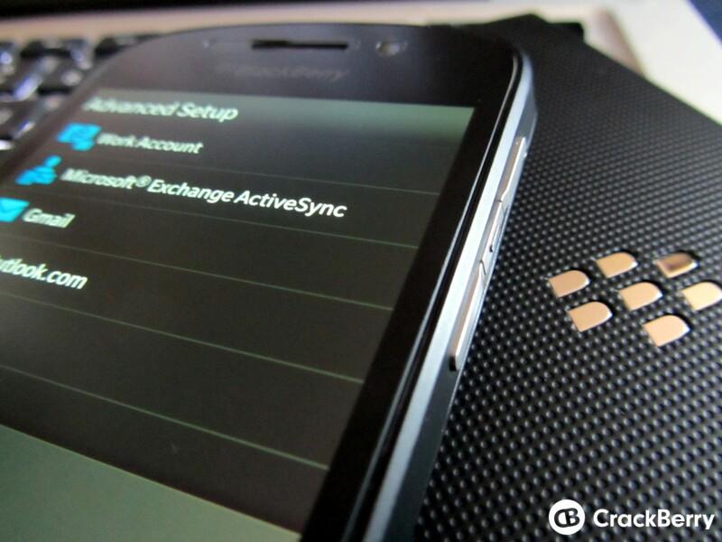 BlackBerry hosting a BlackBerry 10 and ActiveSync Webinar