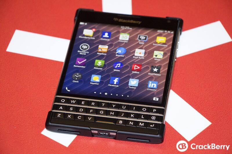 BlackBerry Passport Hard Shell Case