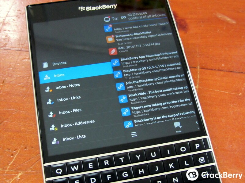 BlackBullet beta updated with Pushbullet subscription support and more