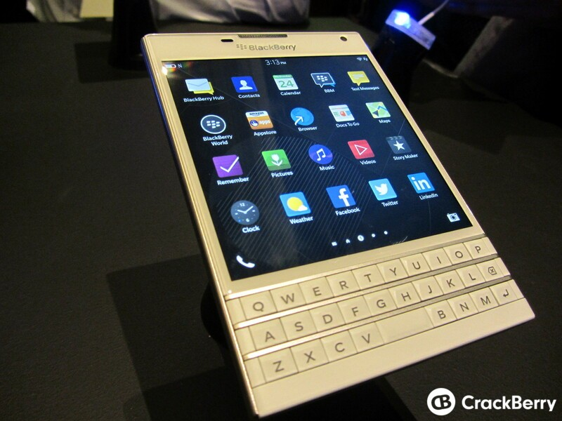 White BlackBerry Passport coming to the U.K. December 8th. Pre-order now