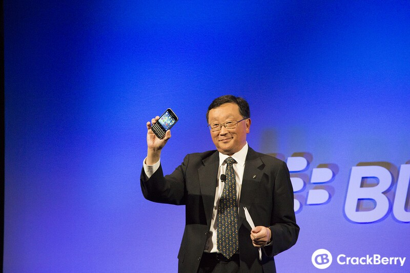 John Chen not against building an Android device, provided he can make it secure