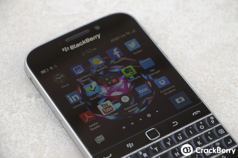 BlackBerry Classic now available through AT&T
