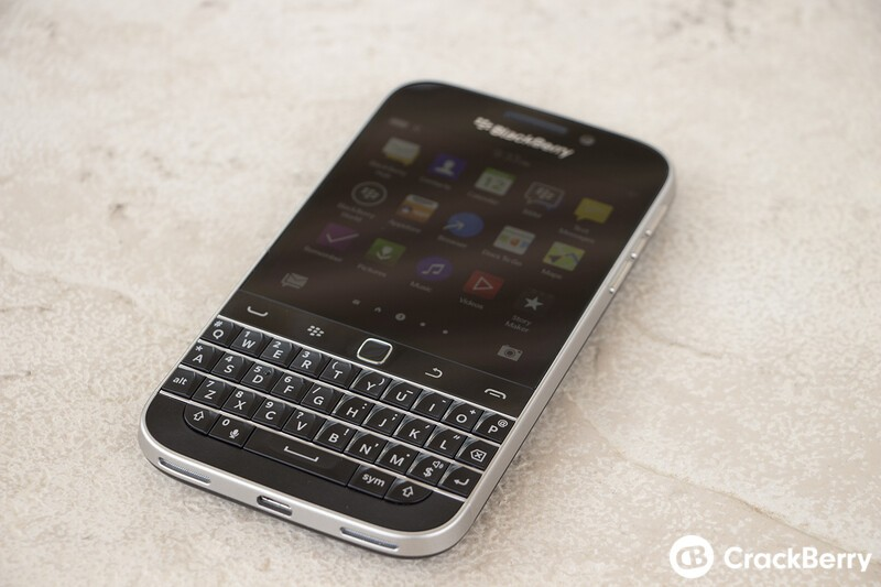 BlackBerry Classic Hardware First Impressions