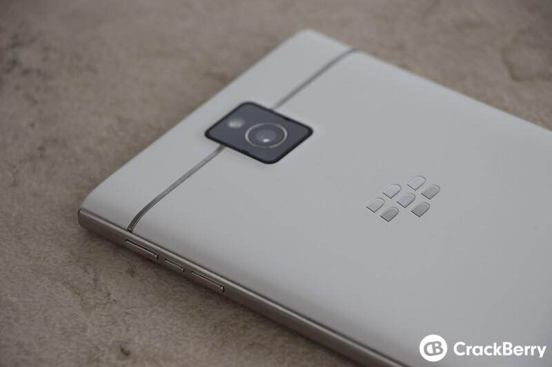 White BlackBerry Passport unboxing!