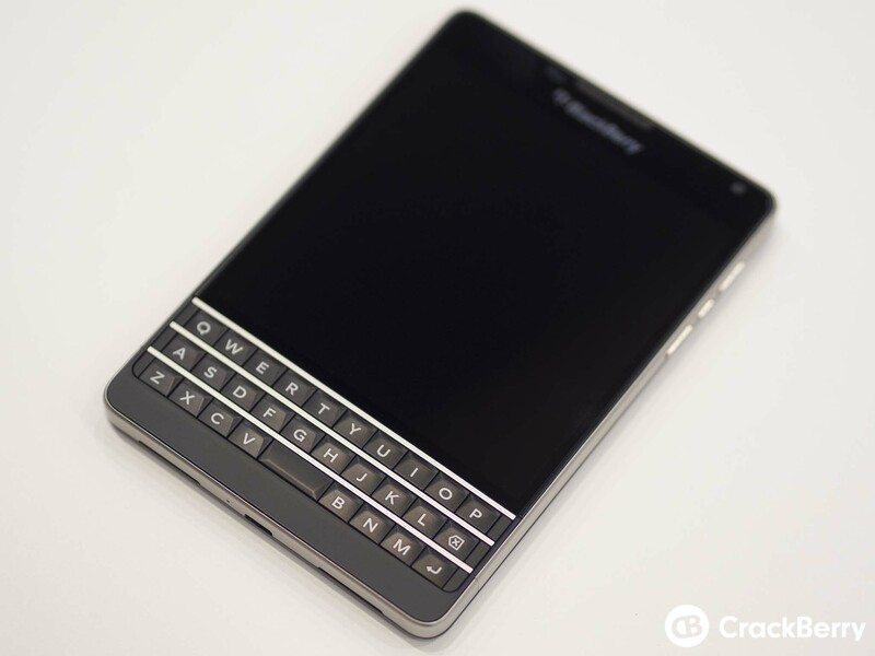 AT&T exclusive version of the BlackBerry Passport now available