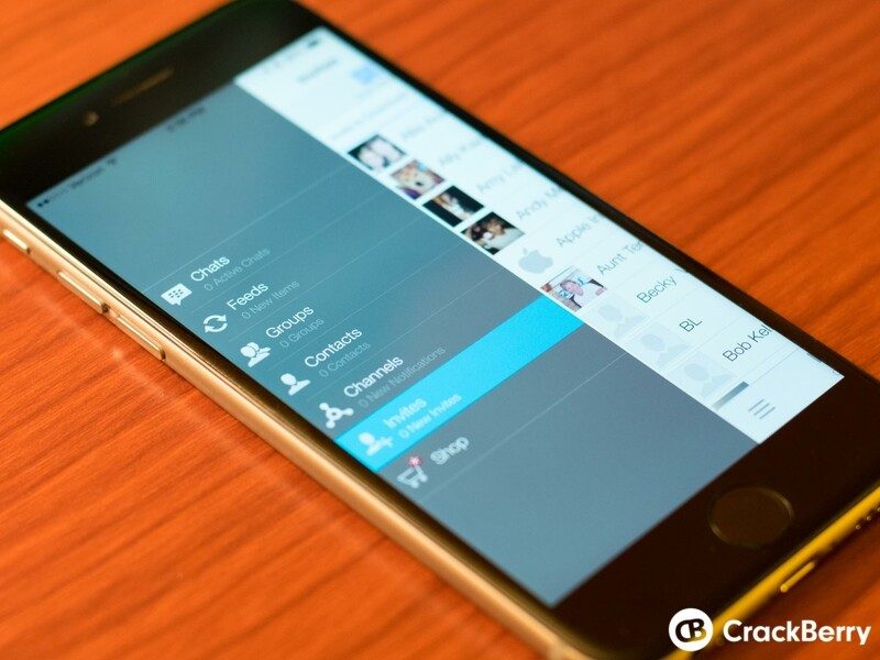BBM beta for iOS updated to v2.7.0.20