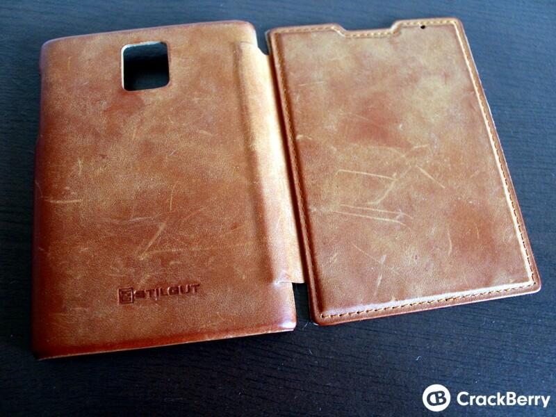 Stilgut Leather Flip Case Exterior