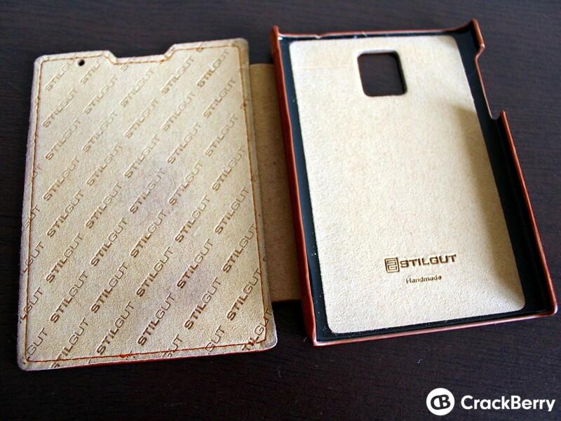 Stilgut Leather Flip Case Interior