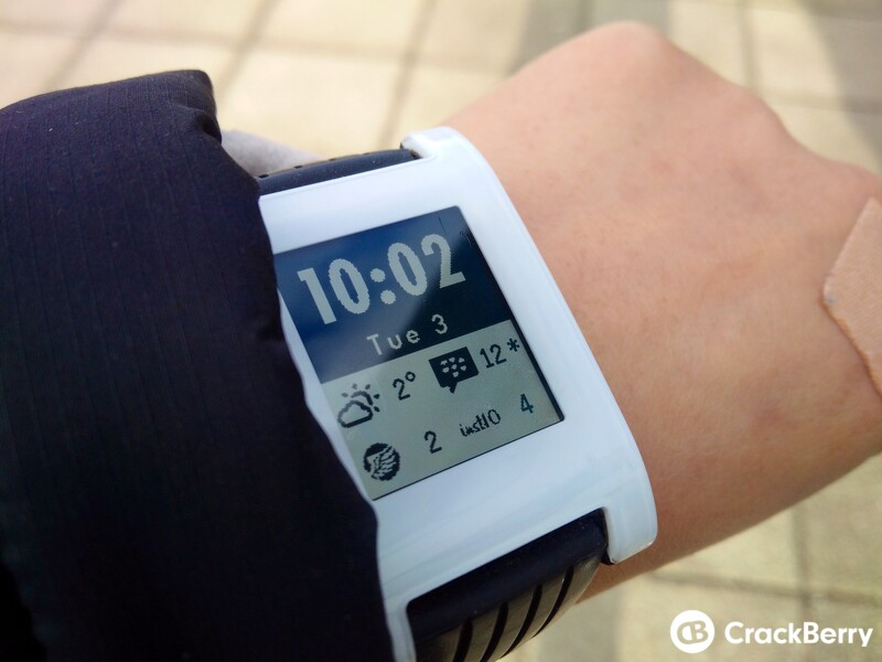 Hub2Watch brings Hub notifications to your Pebble smartwatch