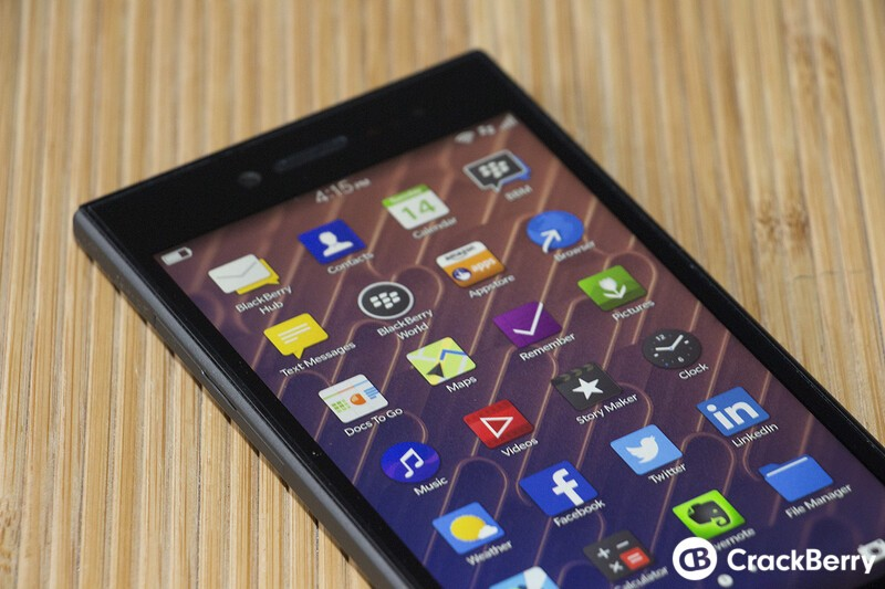 BlackBerry Leap Display