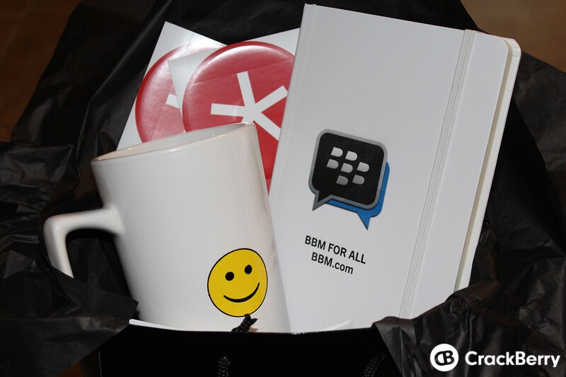 Here are our BBM prize pack contest winners!