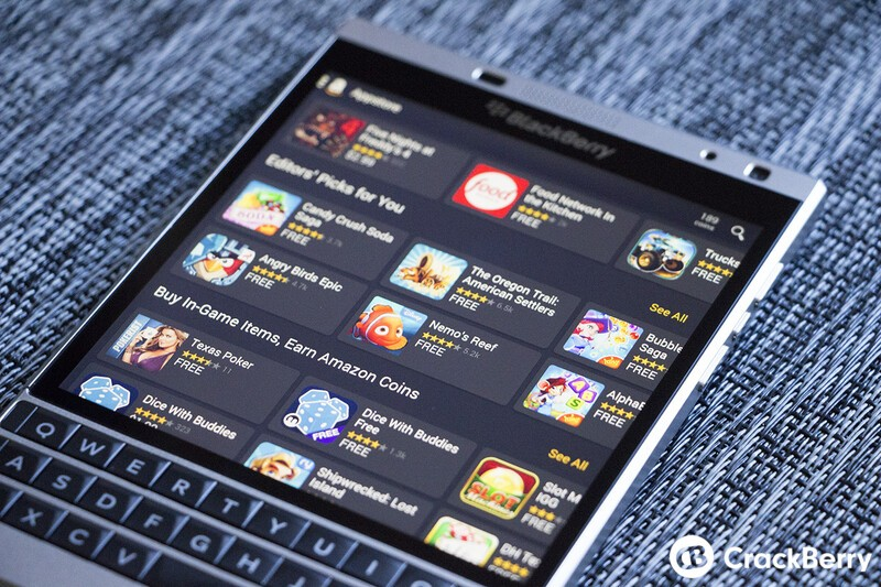 How to update the Amazon Appstore on BlackBerry 10