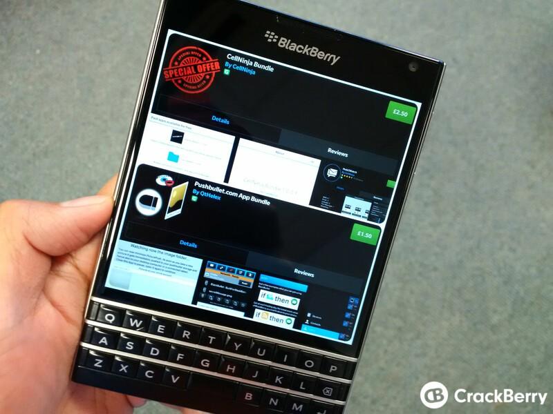 CellNinja and QtHelex offer up app bundles through BlackBerry World
