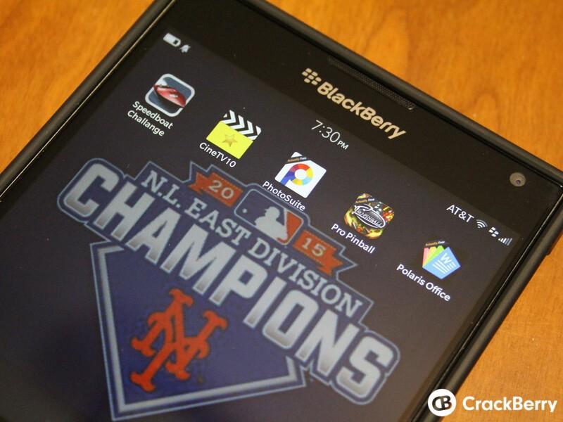 BlackBerry App Roundup 10/2/15