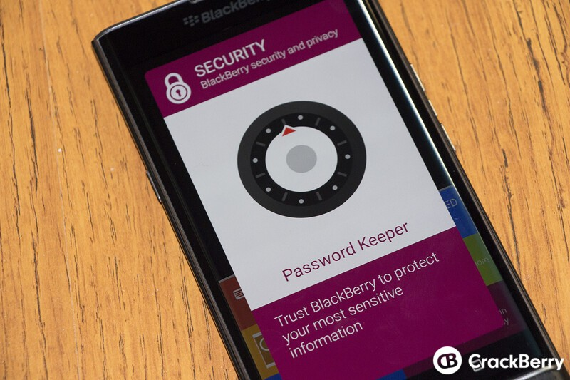 How to move Password Keeper Data to the BlackBerry Priv