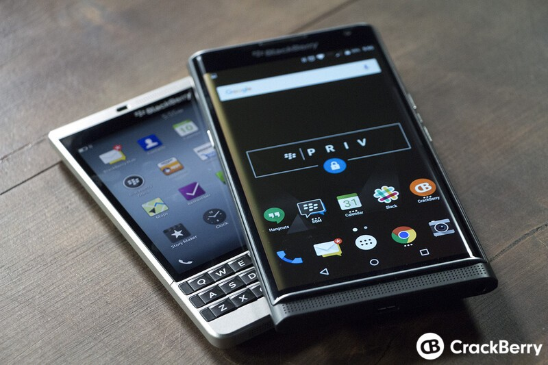 BlackBerry Priv and Passport