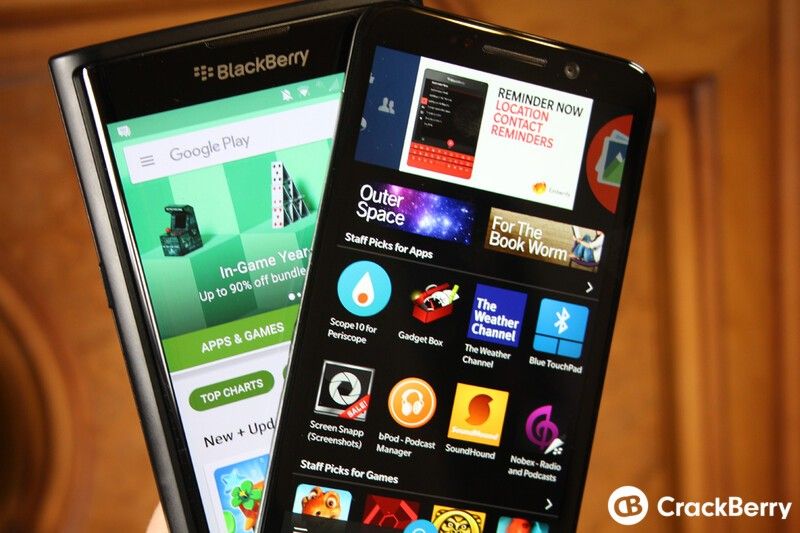 BlackBerry App Roundup 1/1/16
