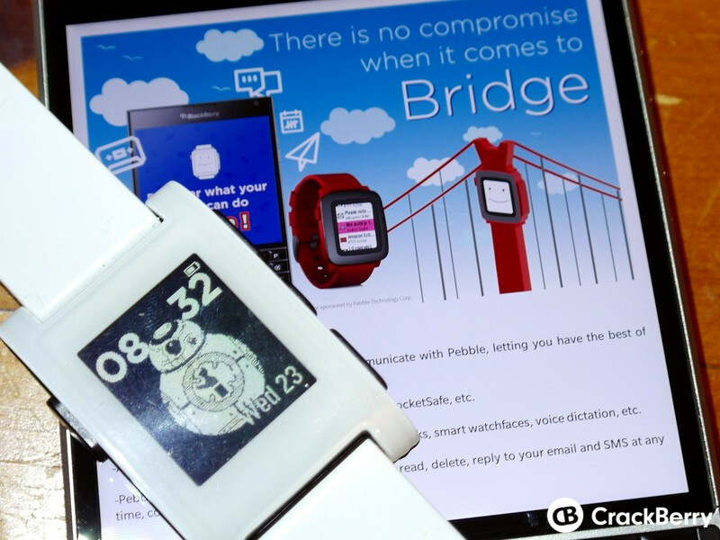 Bridge now supports the original Pebble and Pebble Steel