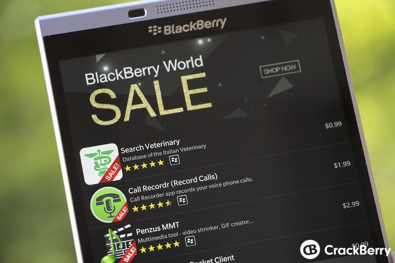 Grab some great BlackBerry 10 apps from BlackBerry World while they're on sale!