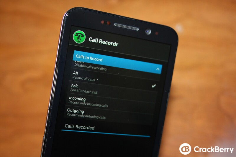 Call Recordr