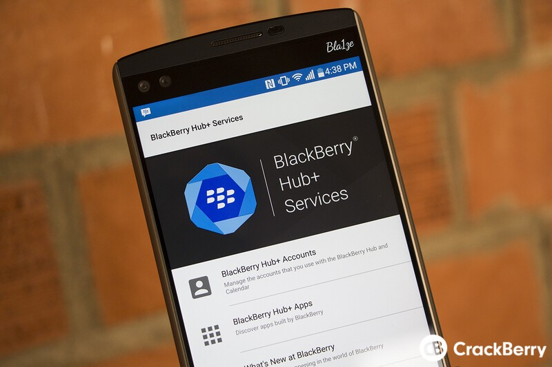 BlackBerry Hub+ Android