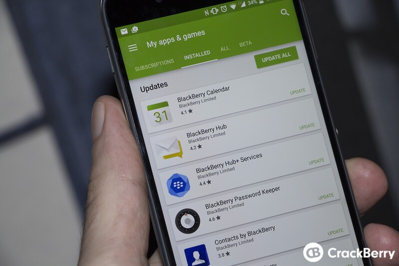 October's BlackBerry Android software updates are full of treats!