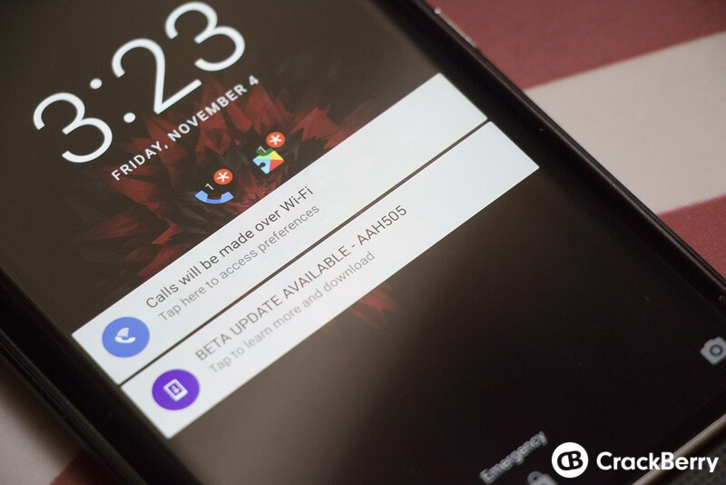 BlackBerry Priv November beta update now available