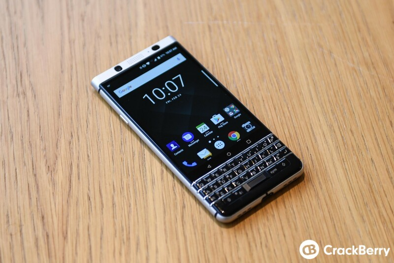 BlackBerry KEYOne finally checks in at the FCC