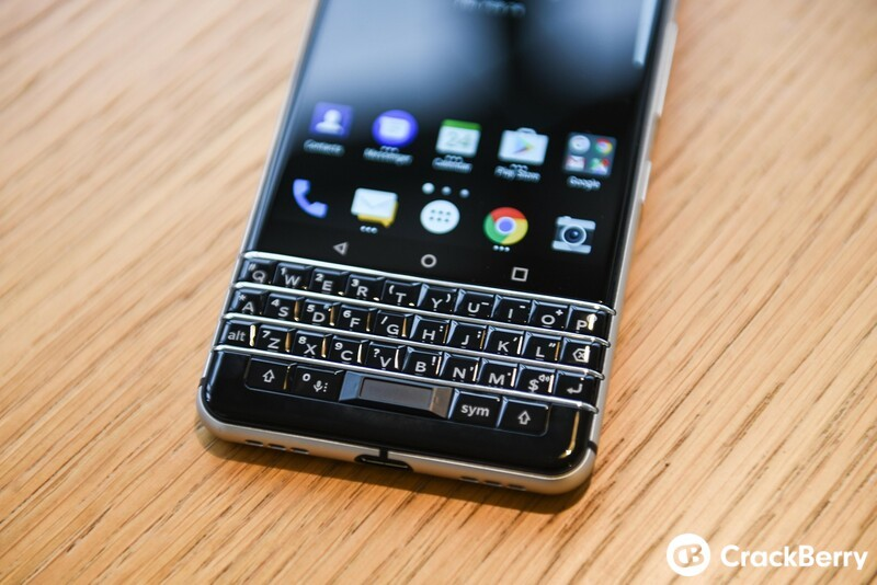 Fingerprint Cards powers the in-keyboard fingerprint sensor on the BlackBerry KEYone