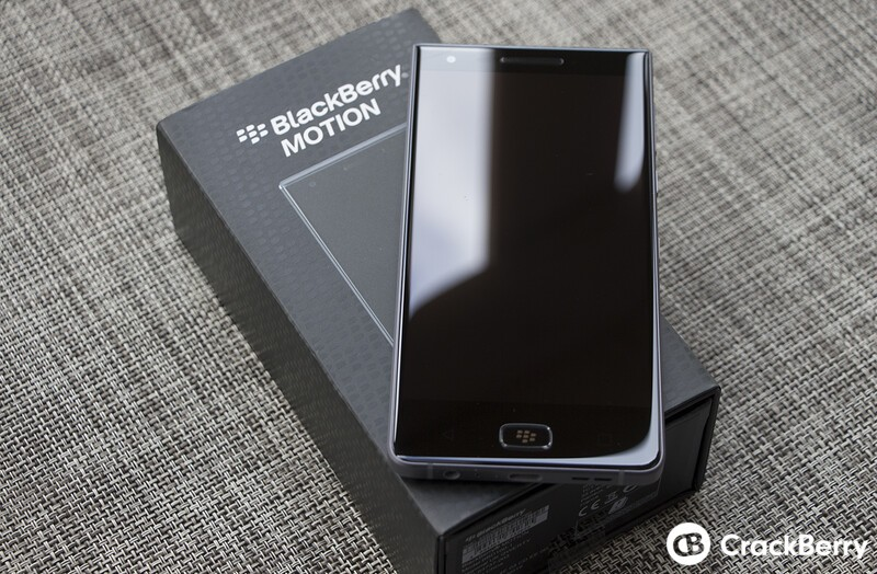GSM unlocked BlackBerry Motion now available in Canada!