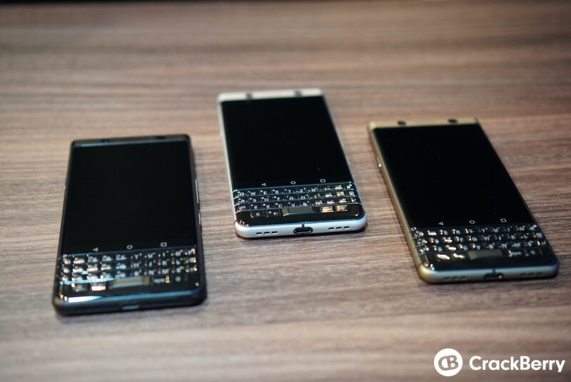 CrackBerry Poll: Which BlackBerry KEYone color is your favorite?