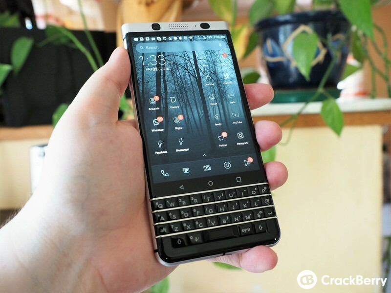 Are you using the BlackBerry Launcher or have you switched to a different launcher?