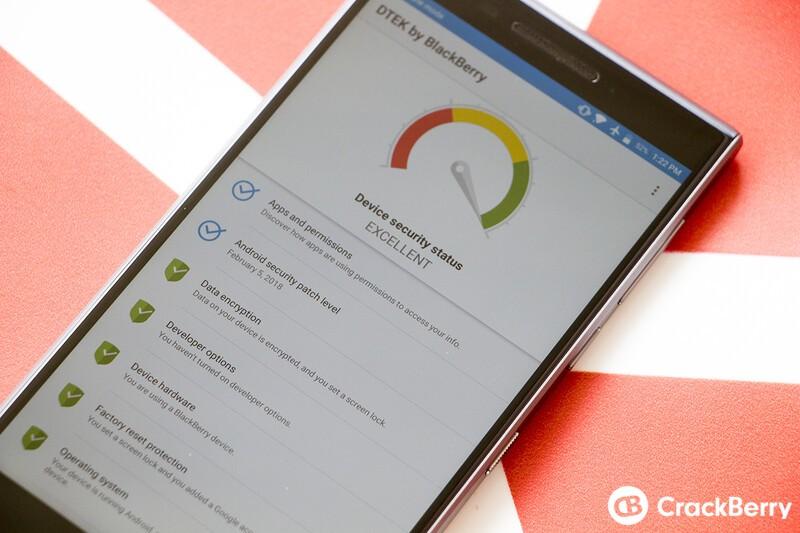 CrackBerry Poll: Do you use the DTEK for BlackBerry app?