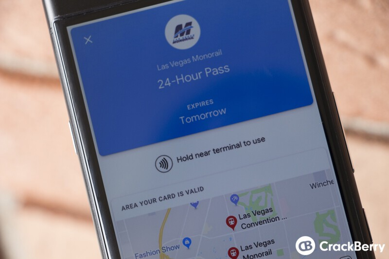 Google Pay now supports transit passes and tickets