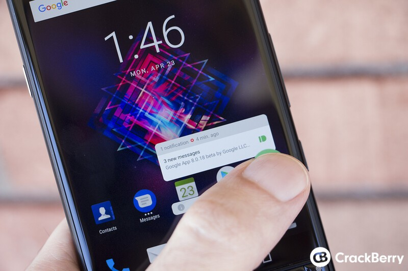 BlackBerry Launcher adds a new way to view your app notifications in latest update!