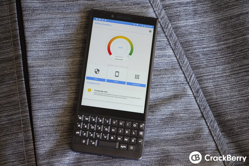 BlackBerry Summer App updates