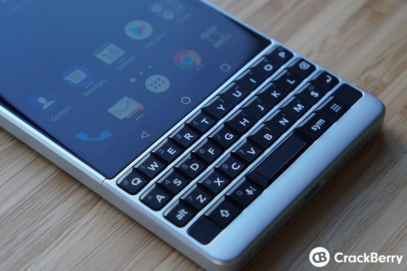 BlackBerry KEY2 keyboard