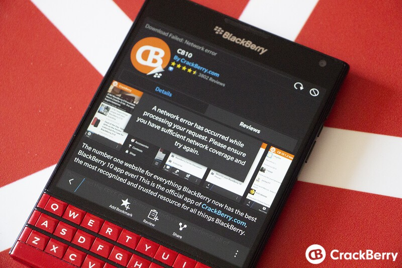 Unable to download apps from BlackBerry World? You're not alone!