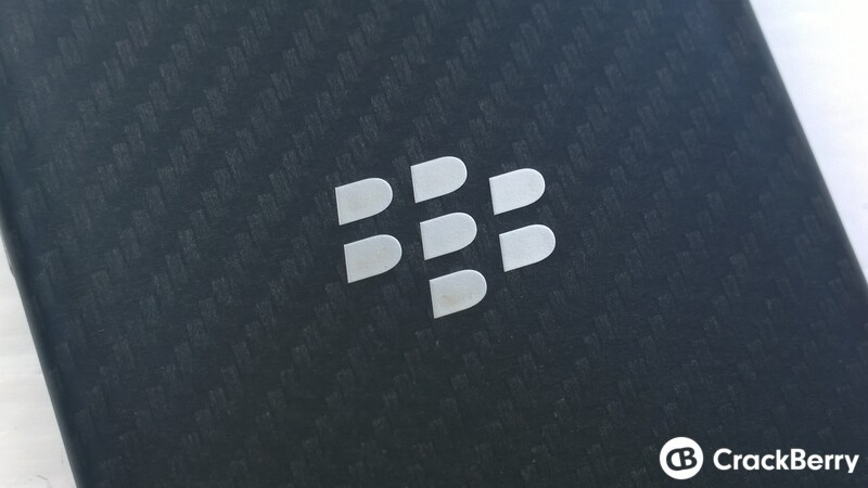BlackBerry back
