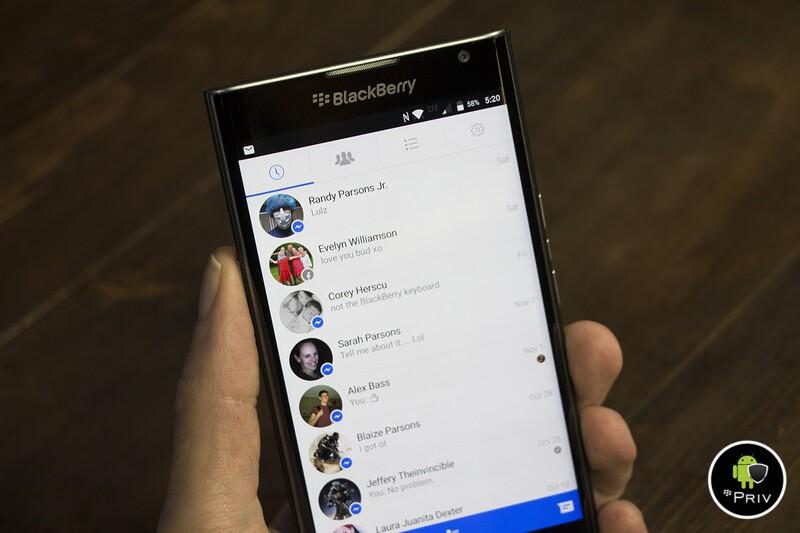 Facebook Messenger Priv