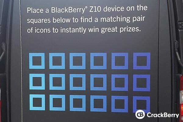 Keep Moving vans start taking the BlackBerry Z10 on tour ...
