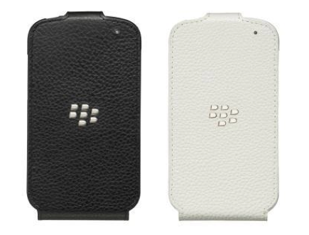 BlackBerry Leather Flip Shell