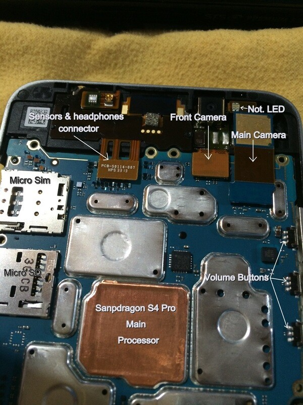 Blackberry Z30 Tear Down Photos Show Us The Goods