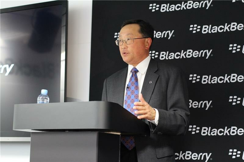 John Chen: BlackBerry isn't selling or leaving the handset business any time soon