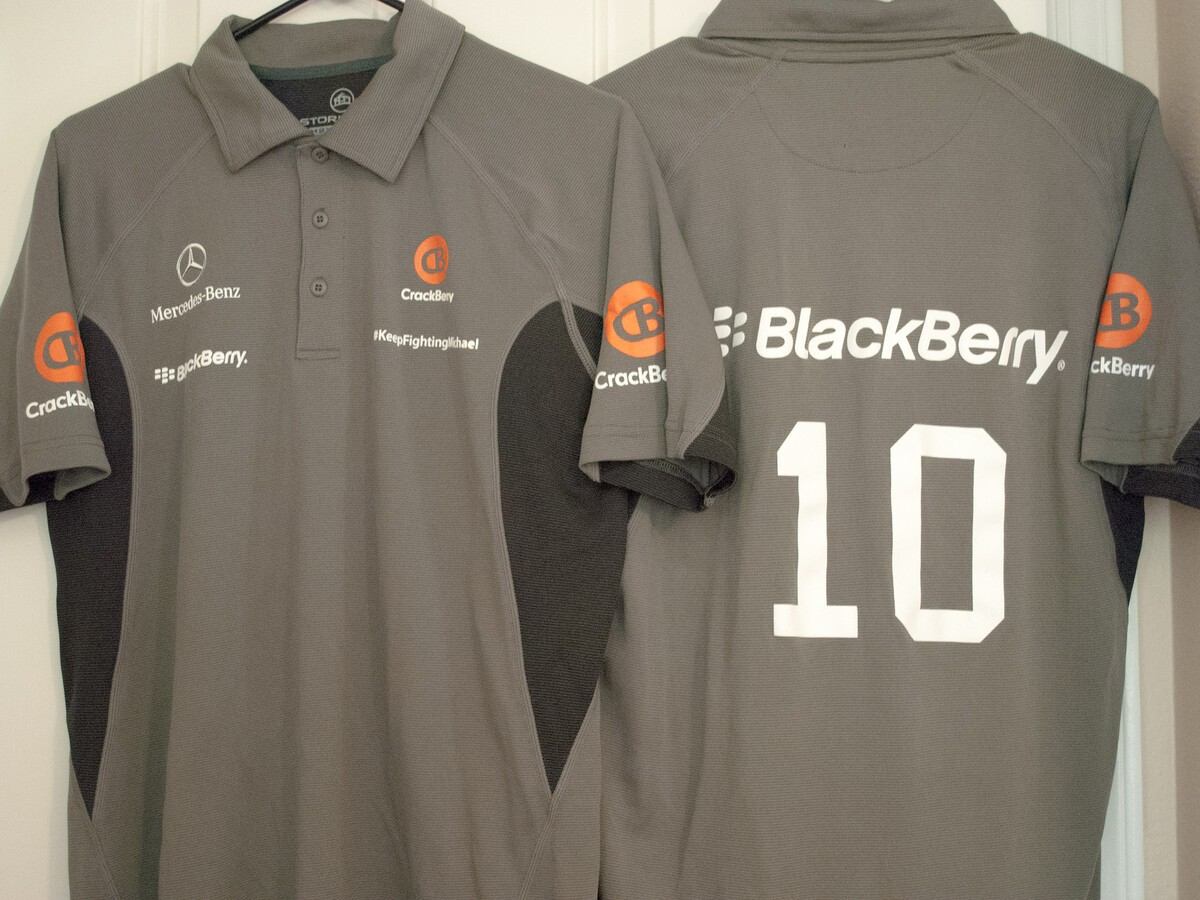 CrackBerry Racing Polo!