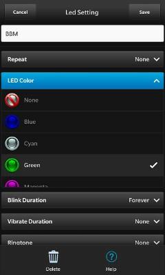 Powertools colour options