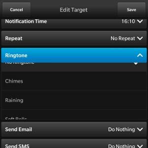 Target Dates Ringtones List