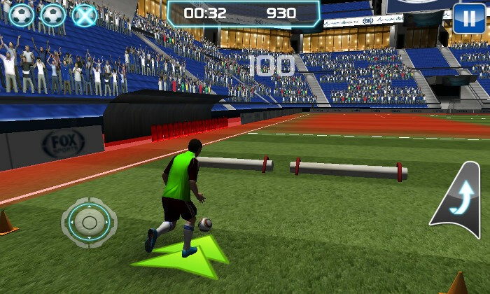 Training with Messi screenshot of gameplay