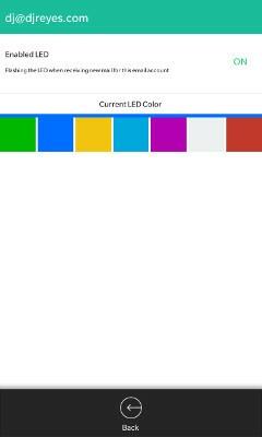 Watcher Email LED Customization
