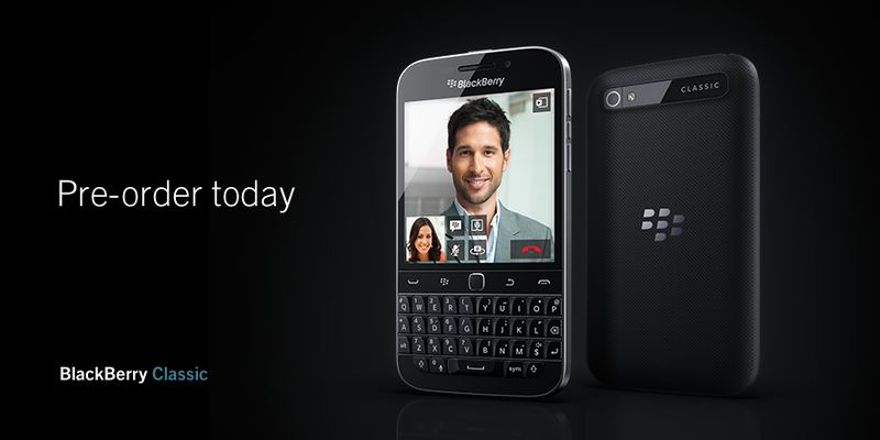 Vodafone Germany now taking pre-orders for the BlackBerry Classic